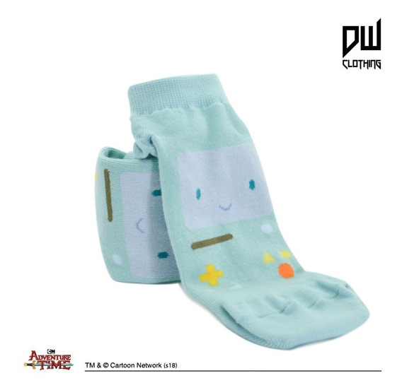 Medias - Socks Bmo - Hora De Aventura - Tm&cartoon Network