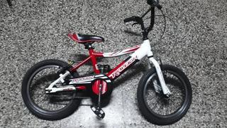 Bicicleta Bmx Raleigh Rodado 16 Aluminio 100% Permuto!!