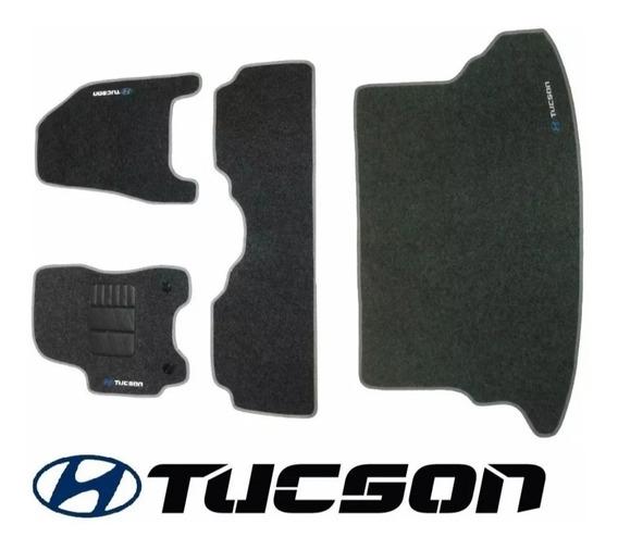 Kit De Tapetes Para Hyundai Tucson 05/16 + Porta Malas