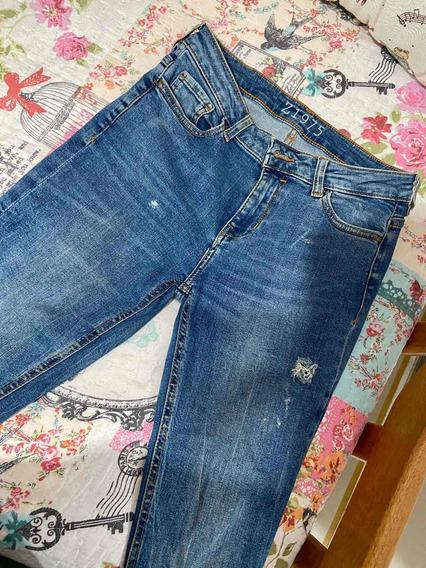 Calça Jeans Zara Tamanho 38