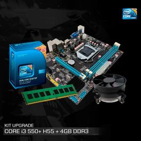 Kit Intel Core I3 530 2.93ghz, Placa Chipset Intel H55, 4gb