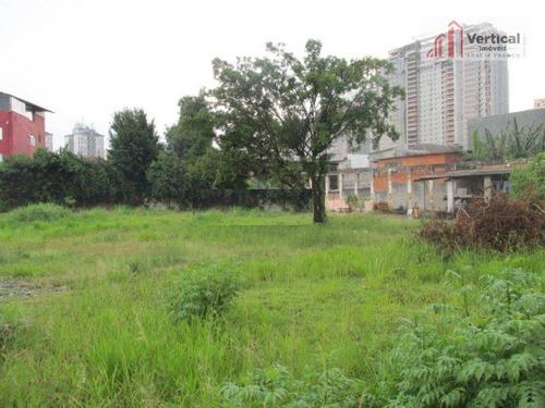 Imagem 1 de 9 de Terreno À Venda, 3000 M² - Tatuapé - São Paulo/sp - Te0128