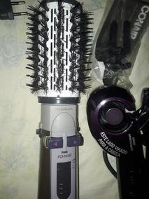 Escova E Modelador De Cachos