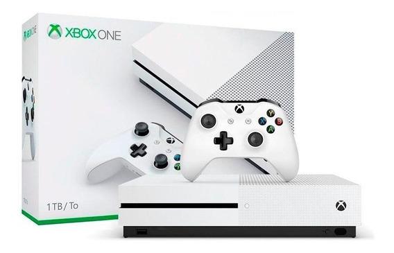 Console Xbox One S 1tb Microsoft Pronta Entrega