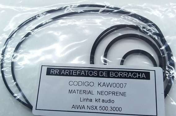 Kit Correias Som Aiwa 3cds Nsx 500 Nsx 3000