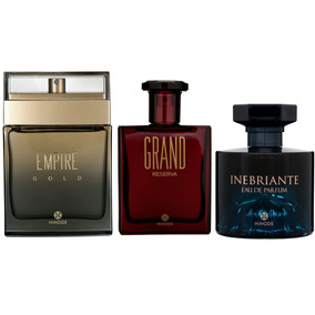 Perfumes Original Hinode 100ml P/ Homens Ricos Em Belezas