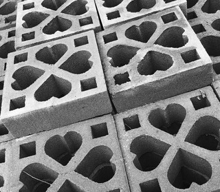 Ladrillo Decorativo Cemento Parasol 25x25