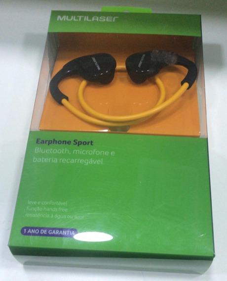 Fone Earphone Bluetooth Bt Sport Academia