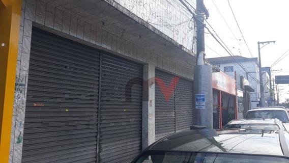 Galpão Para Alugar, 450 M² Por R$ 10.000,00 - Boqueirão - Praia Grande/sp - Ga0009