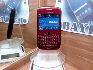Blackberry Curve 8520 Rojo Telcel --envío Gratis--