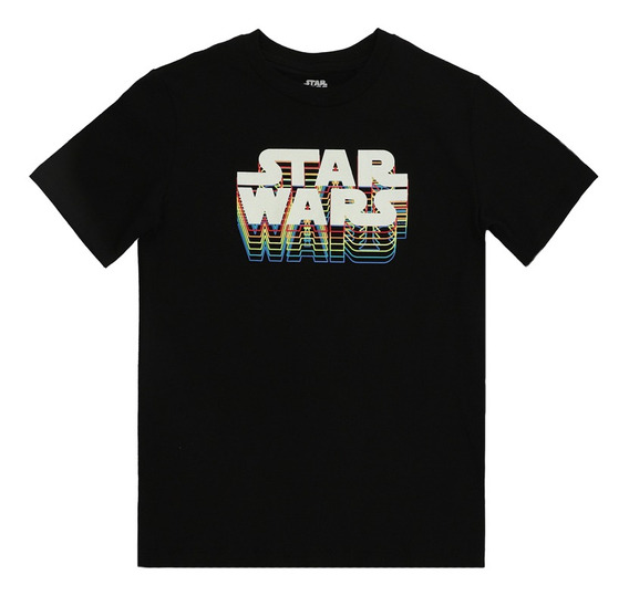 Playera De Licencia Star Wars De Niños C&a