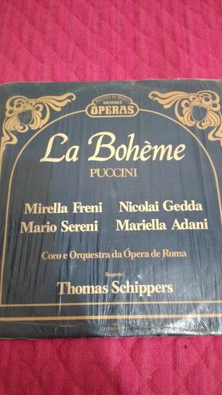 Lp La Boheme - Puccini