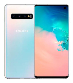 Samsung S10, Branco 6,1 , 128gb, Tripla 12mp+16mp+12mp