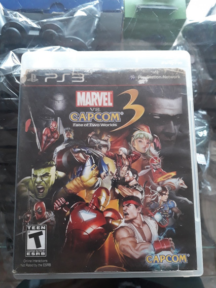 Marvel Vs Capcom 3 Fate Of Two Worlds Ps3 (fatality Games)