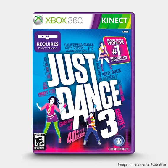 Just Dance 3 - Original Para Xbox 360 - Novo