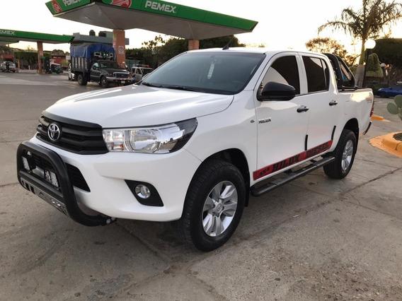 Hilux Diesel Mt 2018 4x4 Estandar Equipada
