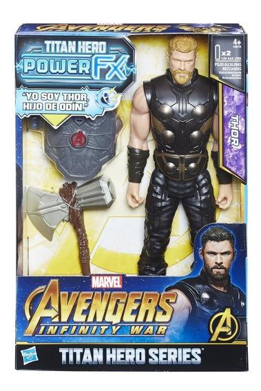Power Pack 12 Pulgadas Thor Avengers Marvel