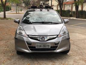 Honda Fit 1.5 Exl Flex Aut. 5p Bancos Em Couro - Impecável