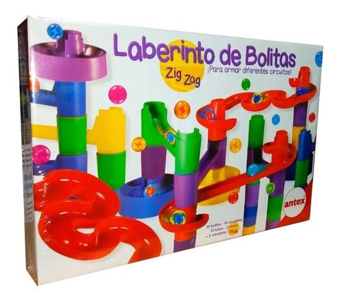 Laberinto De Bolitas Zig Zag Ó Vuelta Al Mundo Didáctico Edu