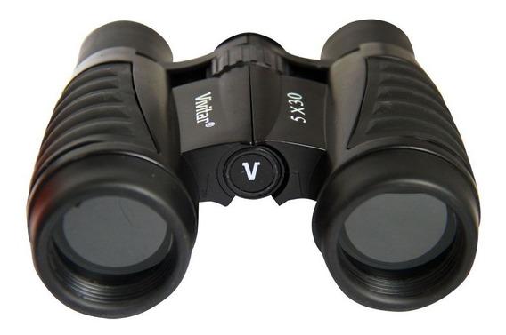 Binóculo Compacto 5 X 30 Vivitar Vivcs530 Alcance Visão 18,2