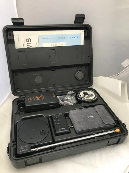 Radio Sony Icf Sw1 Caixa Fonte Antena Externa Manuais Fone