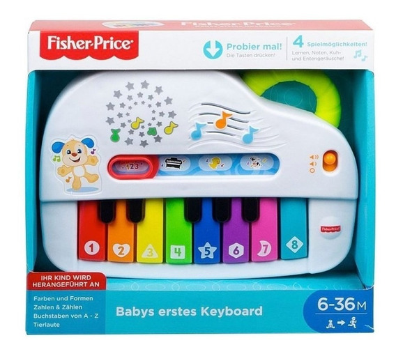 Fisher Price Novo Piano Do Cachorrinho Mattel