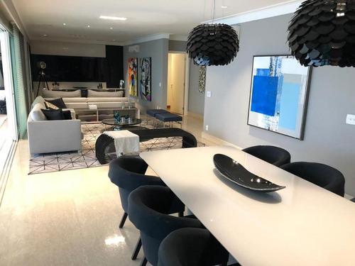 Imagem 1 de 30 de Apartamento Com 4 Dormitórios À Venda, 280 M² Por R$ 3.450.000,00 - Jardim Anália Franco - São Paulo/sp - Ap5283
