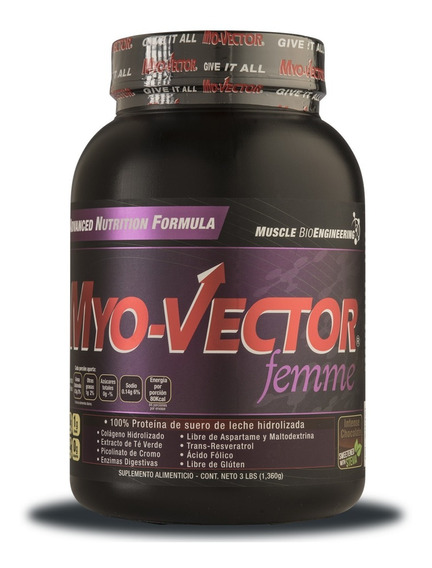 Proteina Myovector Femme 3 Lbs Zero Carbs