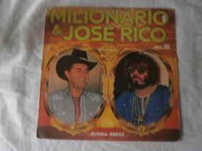 Lp Milionário E José Rico Vol.15 Minha Prece 1985, Vinil