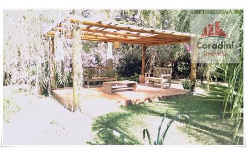 Chácara Com 4 Dormitórios À Venda, 5000 M² Por R$ 2.500.000 - Vila Castelar - Limeira/sp - Ch0038