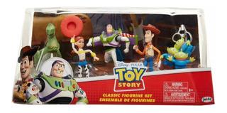 Disney Toy Story Playset Figuras Woody Buzz Rex Jessy Aliens
