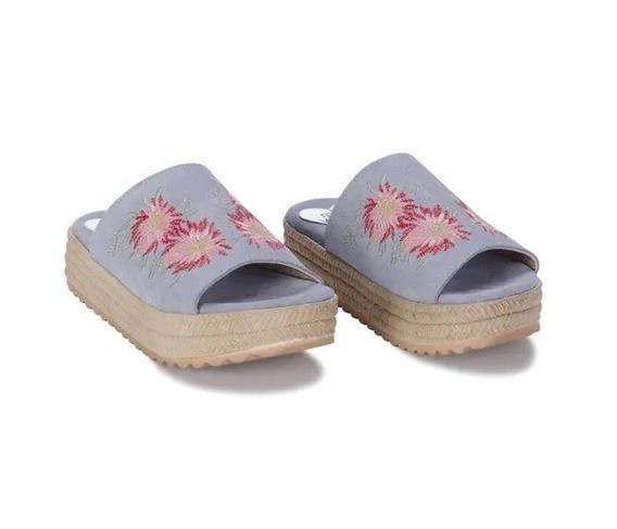 Sandalias Bordadas Viamo Niñas Mini Linea
