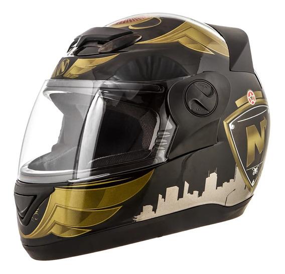 Capacete para moto integral Pro Tork Evolution 3G NOS City preto tamanho 56