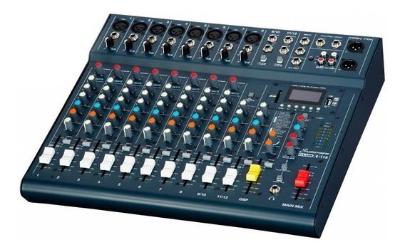 Studiomaster Clubxs12, Mix Digital 12 Entradas Com Usb