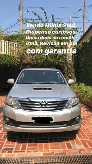 Toyota Hilux Sw4 Srv 4x4 4.0 V6 24v Aut.