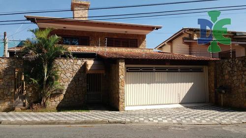 Sobrado Com 5 Dormitórios À Venda, 640 M² Por R$ 800.000,00 - Cidade Jardim - Jacareí/sp - So0037