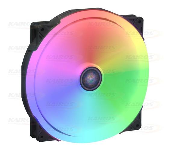 Cooler Fan 200mm X 200mm C/ 32 Leds Rgb Dex - Dx-20w