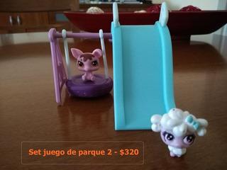 Littlest Pet Shop Sets Juegos De Parque Por Separado