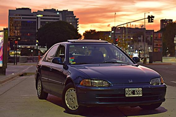 Honda Civic Ex 1993 Full