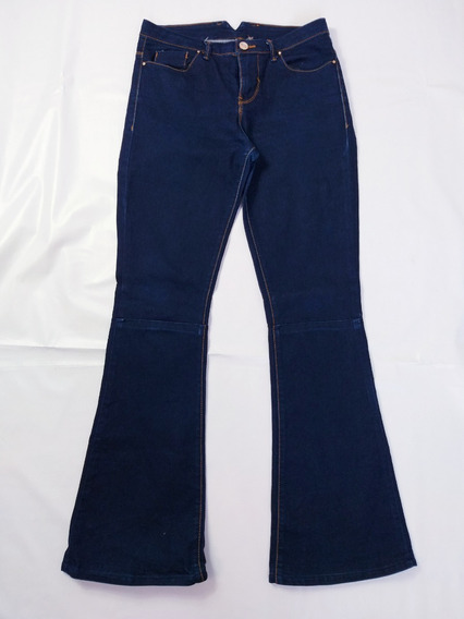 Calça Feminina Jeans Flare Cintura Média Zara