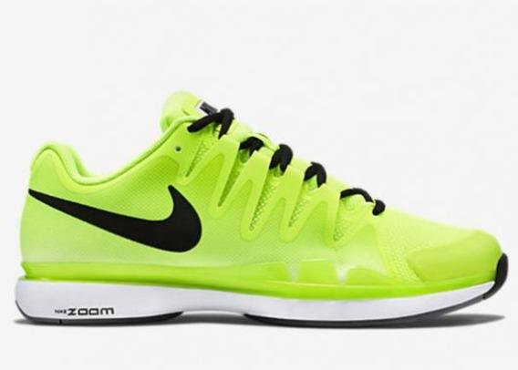 Nike Zoom Vapor 9.5 Tour Amarillas Fluo Talle Usa 7