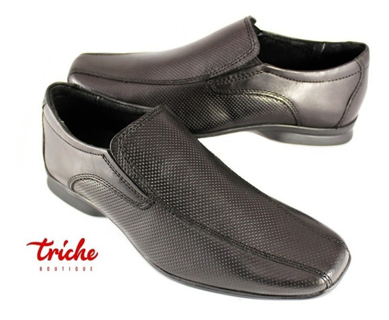 Calzado Caballero Negro Flexi 79503 Vestir Confort Mocasín