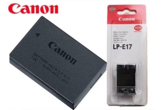 Bateria Lp-e17 Para Câmeras Canon E17