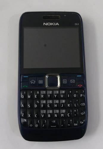 Lote 100 Unid Nokia E63 Semi-novo Desbloqu-sem Carregador
