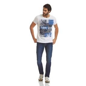 Camiseta Acostamento Masculino Branco