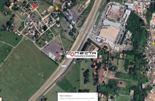 Imagem 1 de 14 de Galpão Para Alugar, 1096 M² E 16.000m² De Terreno  Por R$ 20.000/mês - Jardim Santa Maria - Campinas/sp - Ga1089