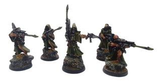 Warhammer - Escuadras Eldar Pintadas W40k
