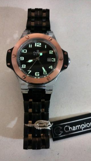 Relógio Champion Warch Cristal/black