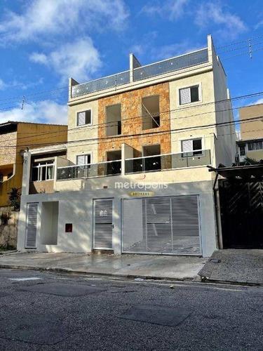 Imagem 1 de 1 de Cobertura Com 2 Dormitórios À Venda, 86 M² Por R$ 395.000,00 - Vila Pires - Santo André/sp - Co0435
