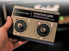 Pedal Bluetooth - Positive Grid Bt2 - Exclusivo No Brasil